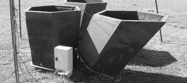 5kHz Mini-SODAR in free-standing configuration.